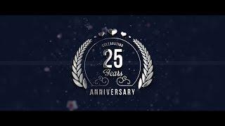 Download 25th Wedding Anniversary Invite Video Video