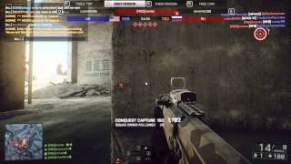 BF4 Squad Up - Winning 64 Player Rush Metro   | Battlefield