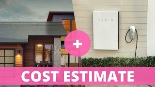 Download Tesla Solar Roof: Cost Estimate with Powerwall 2 and Electricity Costs Video