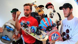 Download 5 CRAZY BOARDS GAME OF SKATE! Video