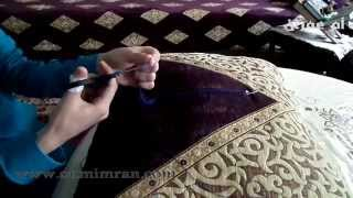 Download طريقة برم او فتل خيط الطرز الدرس تاني مع ام عمران tarz Arab Embroidery Video