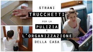 Download Strani TRUCCHETTI per la PULIZIA e l'ORGANIZZAZIONE della CASA Fai da Te/CLEANING HACKS Video