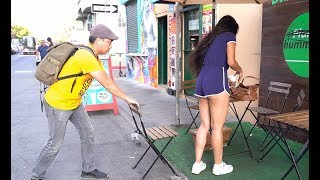 Download Chair Pulling Prank in Venice Beach!!! Video