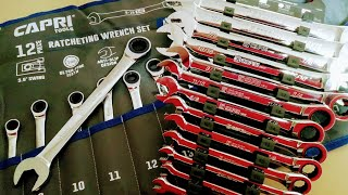Download Capri Tools Did WHAT?!? 100 Tooth Ratcheting Wrench Sets (look at the open end) Video