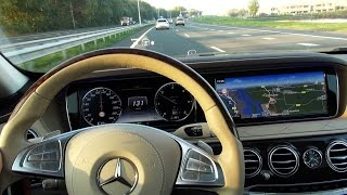 Download 2017 Mercedes S Class Head Up display Drive Pilot Nightvision assist Distronic Plus Lane keeping Video
