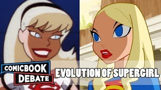 Download Evolution of Supergirl in Cartoons in 9 Minutes (2017) Video