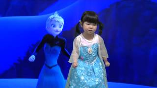 Download Disney's Frozen ″Let It Go″ - Idina Menzel/Demi Lovato cover by 3-year-old Aoi【あおいチャンネル】 Video