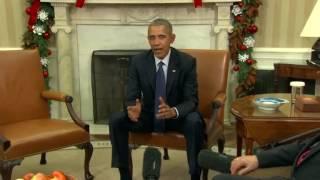 Download Obama praises ″amazing work″ of Nobel Prize winners Video