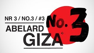 Download ABELARD GIZA - Numer 3 (całe nagranie) (2018) Video