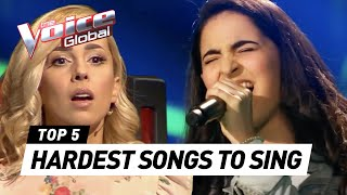 Download HARDEST SONGS to sing in The Voice (Kids) Video
