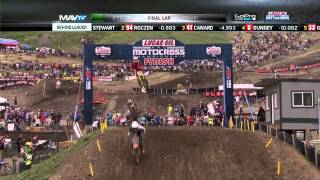 Download Thunder Valley 450 Moto 1: Stewart vs. Roczen, Final 2 Laps Video