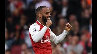 Download FIRST SHOT, FIRST GOAL... | Alexandre Lacazette's Arsenal debut Video