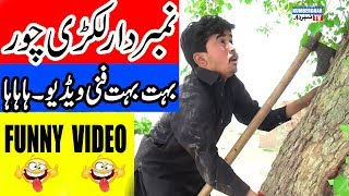 Download Numberdaar Lakri Chor Funny Video | نمبر دار لکڑی چور | Numberdaar Tv Video