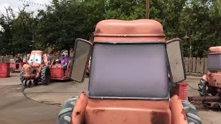 Download Mater's Graveyard JamBOOree - Monster Truck Smash - Cars Land, Disney California Adventure Video