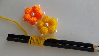 Download Hand Embroidery: Making Flowers With Simple Trick (PART 1) Video