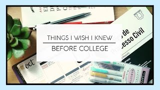 Download Things I Wish I Knew Before College/Law School Video