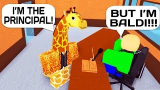 Download TROLLING AS A GIRAFFE PRINCIPAL IN ROBLOX HIGH SCHOOL! Video