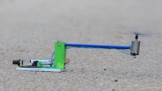 Download How to make a Flying Helicopter Drone - From DC Motor - US Video
