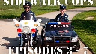 Download Sidewalk Cops Compilation Video - Episodes 3 - 7 (The Litterer - Superman Texting) Video