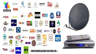 Download Free to Air FTA Satellite Channels in North America Video