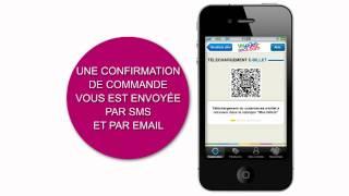 Download Votre billet dans votre mobile avec l'application iPhone Voyages-sncf Video