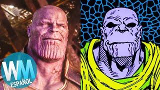 Download ¡Top 10 DIFERENCIAS entre la PELÍCULA de Infinity War y el CÓMIC! Video
