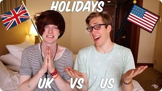 Download Holidays! British VS American | Evan Edinger & Bry Video