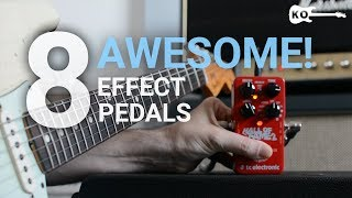 Download 8 Awesome Effect Pedals for Electric Guitar - by Kfir Ochaion Video