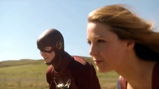 Download The Flash Meets Supergirl For The First Time - Supergirl 1x18 Video