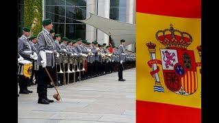 Download Ehrenkompanie - Spaniens Ministerpräsident Pedro Sánchez - Militärische Ehren Video
