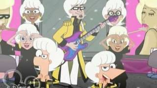 Download Phineas and Ferb - Love Händel Bass guitar - Fabulous Video