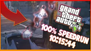 Download GTA V 100% 10:15:44 speedrun Video
