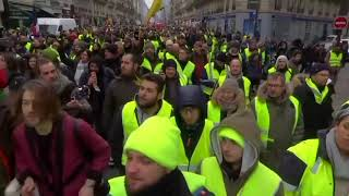 Download France's 'yellow vests' protest for a 10th week Video