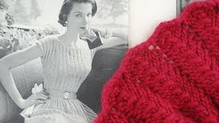 Download LACE SCARF KNITTING TUTORIAL - Vintage Lace Scarf Revisited, Beginners Edit Video