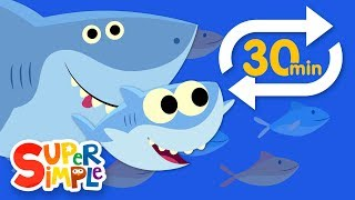 Download Baby Shark (Extended Mix - 30 Mins!) | Kids Songs | Super Simple Songs Video