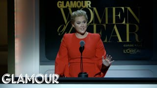 Download Amy Schumer Opens Glamour's Women of the Year Awards | Glamour Video