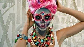 Download Sugar Skull Makeup Tutorial Video
