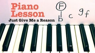 Download Just Give Me a Reason- Piano Lesson- Pink ft Nate Ruess (Todd Downing) Video