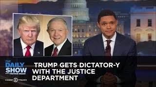 Download Trump Gets Dictator-y with the Justice Department: The Daily Show Video