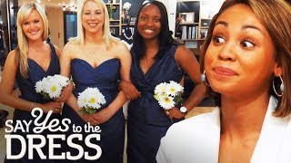 Download Ex-Mean Girl Gets Catty With Her Bridesmaids! | Say Yes To The Dress Bridesmaids Video