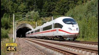 Download Feel the 300km/h - Germany ICE High speed trains - Frankfurt - Köln [4K] Video