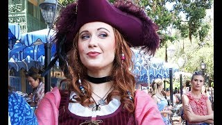 Download Redd NEW Pirates of the Caribbean character FIRST APPEARANCE at Disneyland Video