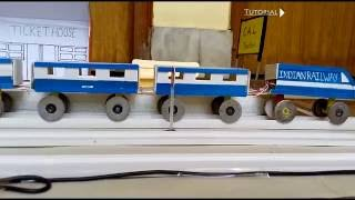 Download How to make a train complete project Video