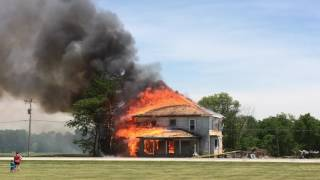 Download June 10, 2017 House Fire Video