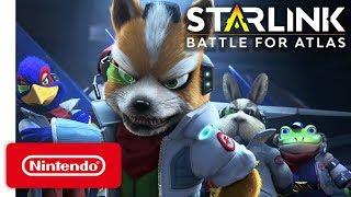 Download Starlink Battle for Atlas - Star Fox Launch Trailer - Nintendo Switch Video