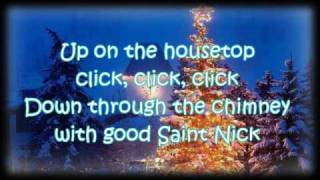 Download [Lyrics] Gene Autry - Up on the House Top Video
