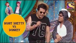 Download Krushna Imitates Rohit Shetty & Mocks Donkey Sudesh - Jodi Kamaal Ki Video