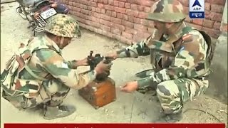Download Pakistan Firing: Indian army diffuses live mortar shell Video