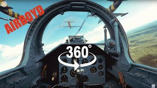 Download Baltic Bees Jet Team L-39 Formation Flight - 360 Video Video
