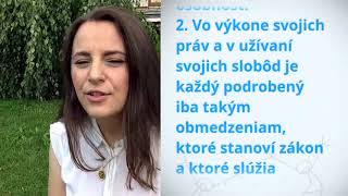 Download Eva Palesova, Slovakia, reading article 28 of the Universal Declaration of Human Rights Video